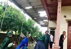 Bão số 5 đang áp sát đất liền, lốc xoáy giật tốc mái nhà ở Hà Tĩnh