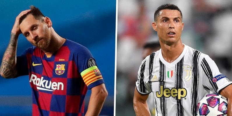 Messi, Ronaldo bị loại thẳng đề cử Tiền đạo hay nhất Cúp C1