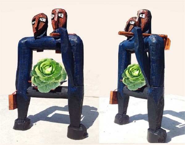 Exhibition showcases sculptures by artists from big cities