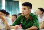 Điểm chuẩn vào các trường quân đội cao nhất là 29,44