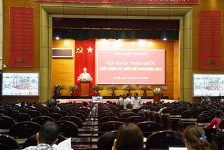 Hội nghị trực tuyến tập huấn toàn quốc Luật Cảnh sát biển Việt Nam