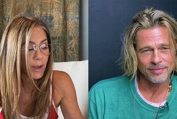 Brad Pitt gọi vợ cũ Jennifer Aniston là 'em yêu' sau 15 năm ly hôn