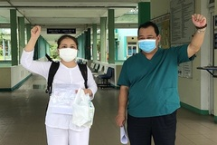 Ca mắc Covid-19 cuối cùng tại bệnh viện Phổi Đà Nẵng xuất viện
