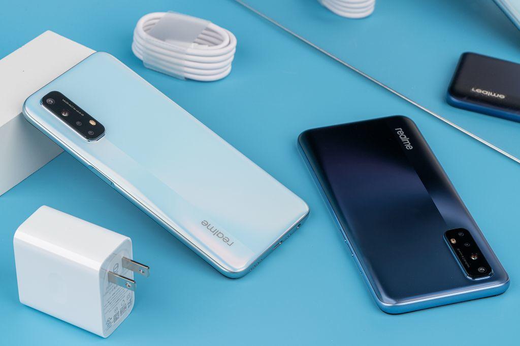 Mở hộp Realme 7, smartphone