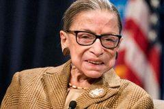 Nữ thẩm phán lừng danh nước Mỹ qua đời vì bệnh ung thư