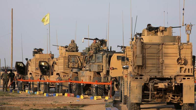 Mỹ triển khai một loạt khí tài và binh sĩ tới Syria