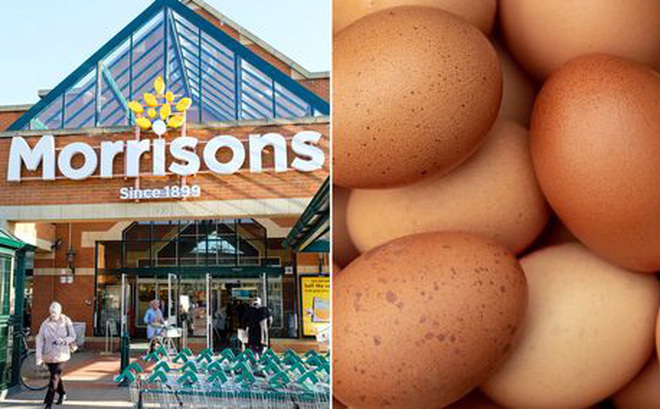 Khách hàng bất ngờ với món 'trứng ướt' kinh dị bày bán trong siêu thị
