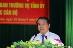 Thanh Hóa kiện toàn công tác cán bộ trước thềm Đại hội Đảng bộ tỉnh lần thứ 19