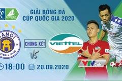 Lịch thi đấu chung kết Cúp Quốc gia 2020