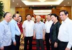 Bộ Chính trị cho ý kiến phương án nhân sự Hà Nội và 19 Đảng bộ khác