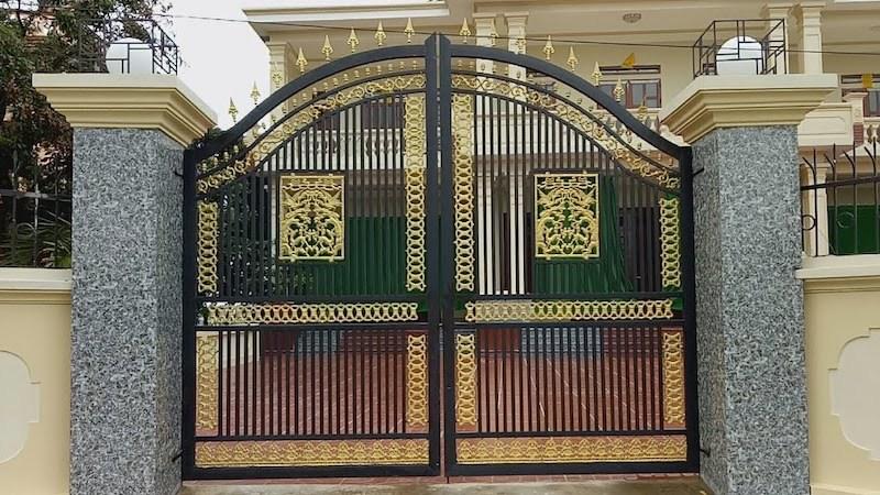 Đại kỵ cần tránh theo phong thuỷ khi làm sân, xây cổng nhà ở
