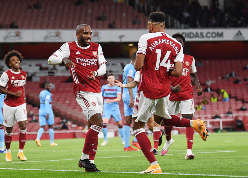 Link xem video bàn thắng Arsenal 2-1 West Ham
