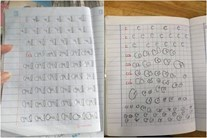 Con mới vào lớp 1 viết chữ như giun dế, ai ngờ có thể mắc bệnh 'chứng khó đọc'