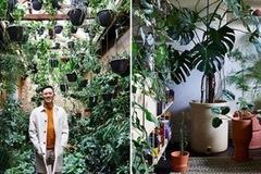 """Ngắm """"rừng trong nhà"""" độc đáo của kiến trúc sư 32 tuổi"""
