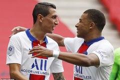 """Mbappe và Di Maria tỏa sáng, PSG thắng trận """"ba sao"""""""