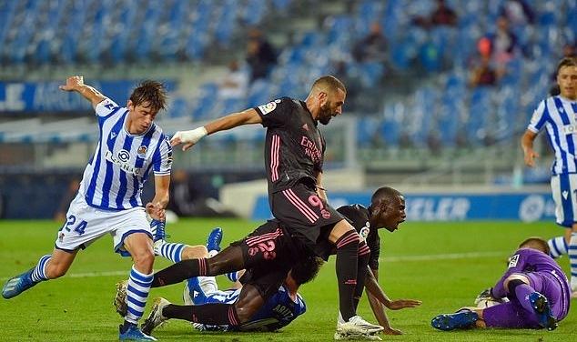 ĐKVĐ Real Madrid bị cưa điểm trận ra quân
