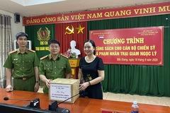 Phát triển tủ sách hướng thiện cho các phạm nhân tại trại giam Ngọc Lý