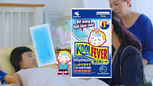 4 tiêu chí hàng đầu khi chọn miếng dán hạ sốt cho trẻ