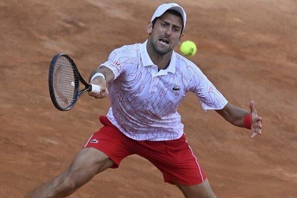 Djokovic đoạt vé vào chung kết Rome Masters