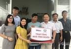 Hạnh phúc của người cha được Báo VietNamNet hỗ trợ xây ngôi nhà khang trang