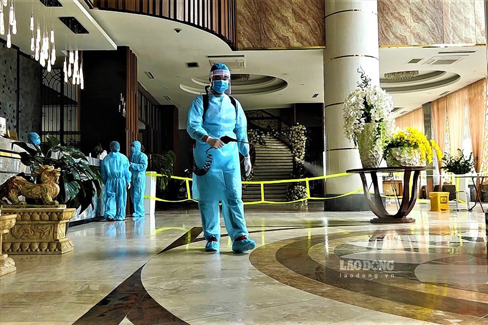 Luxury hotels ready to receive guests quarantined after arrival