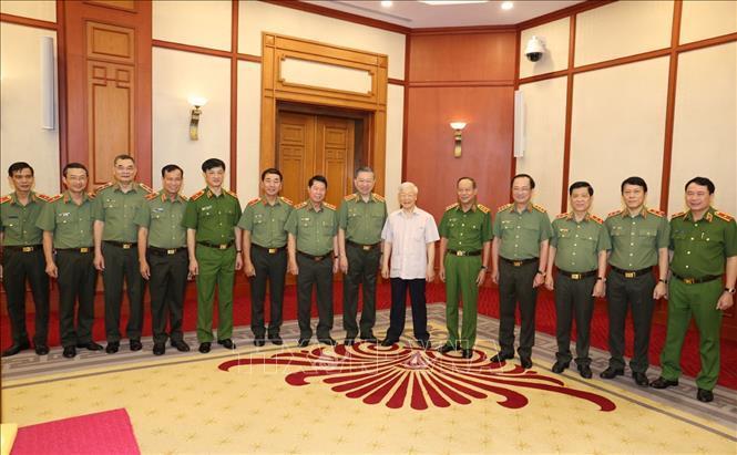 Tổng Bí thư, Chủ tịch nước: Xây dựng lực lượng công an trong sạch, gương mẫu, liêm chính