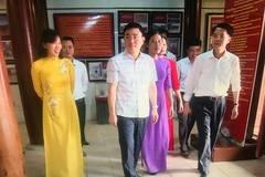 Vĩnh Phúc vinh danh các bậc danh nhân khoa bảng tại Văn Miếu tỉnh