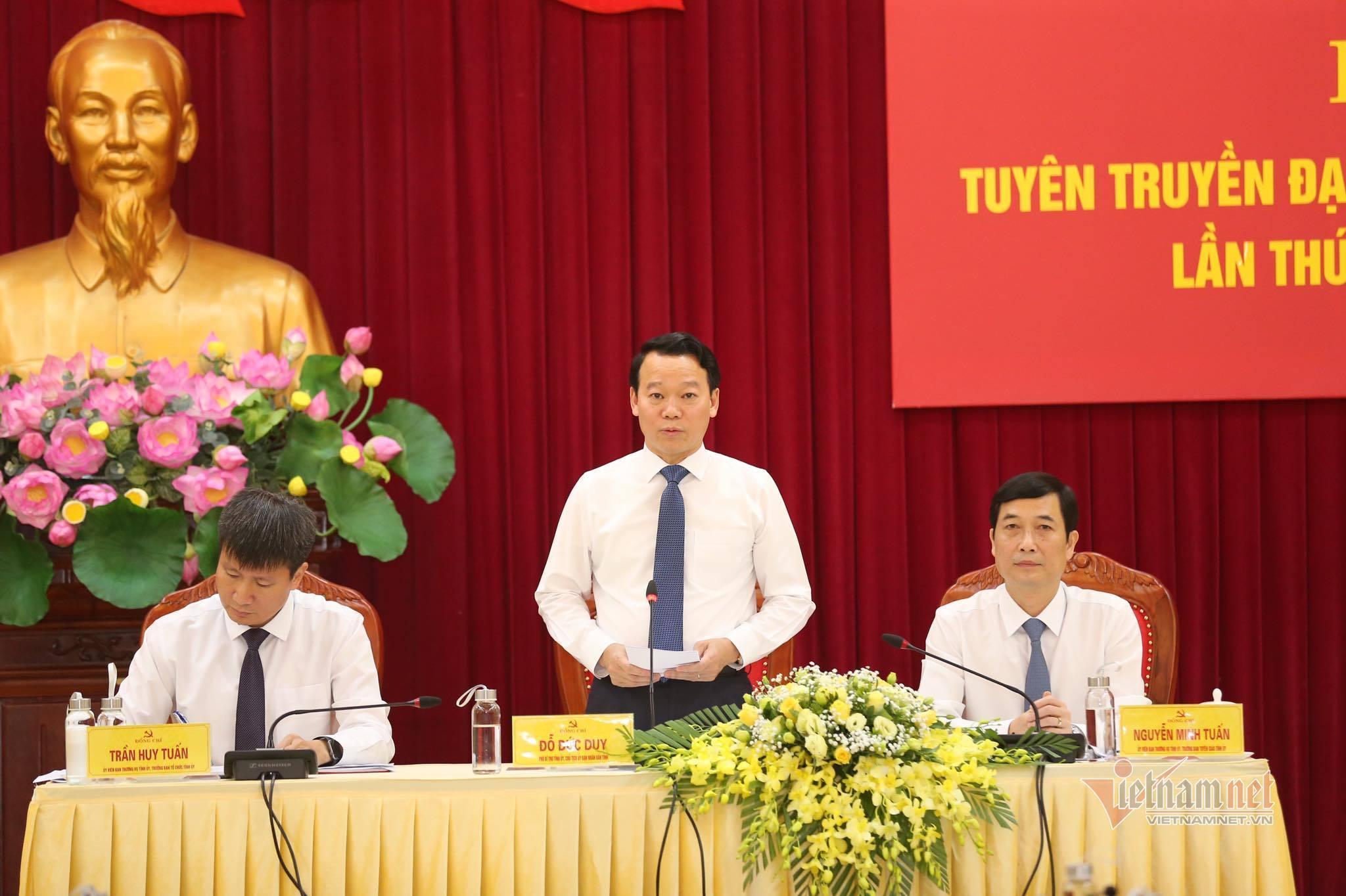 """Bộ Chính trị ủng hộ Yên Bái đưa """"chỉ số hạnh phúc"""" vào Đại hội Đảng"""