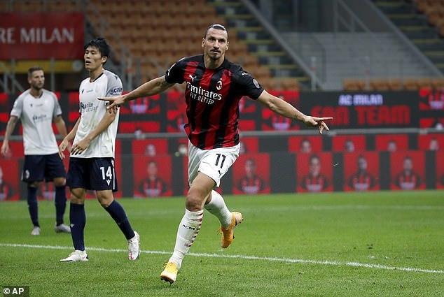 Ibrahimovic chói sáng, Milan thắng dễ trận ra quân