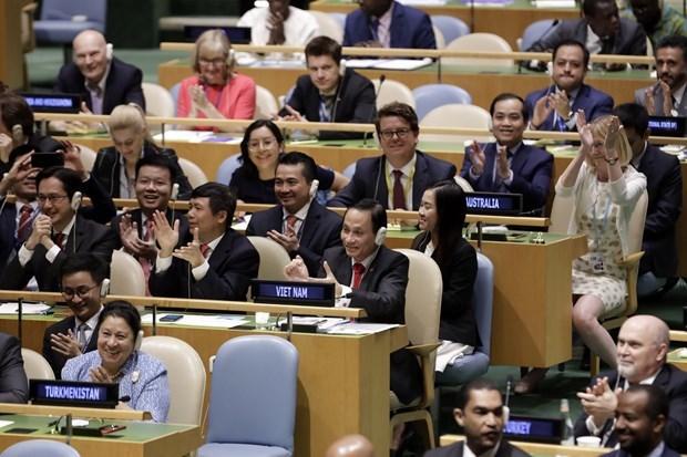 Thủ tướng: Việt Nam quyết tâm cùng các dân tộc trên thế giới gìn giữ hòa bình