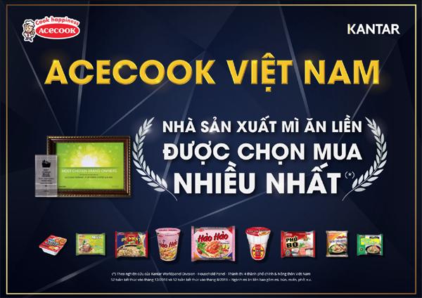 Cách mì Hảo Hảo hấp dẫn người Việt suốt 20 năm
