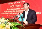 Bí thư Hà Nội yêu cầu đấu tranh không khoan nhượng với tiêu cực, tham nhũng