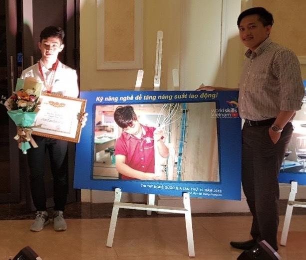 Chọn học nghề, sau 3 năm chàng trai Khmer có công việc nhiều người mơ ước