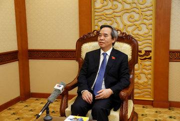 Đồng chí Nguyễn Văn Bình trả lời nhân kỷ niệm 70 năm ngày truyền thống Ban Kinh tế Trung ương