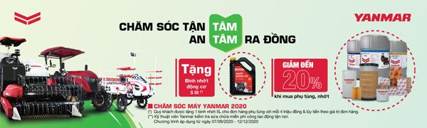 Yanmar Việt Nam miễn phí công dịch vụ, tri ân khách hàng