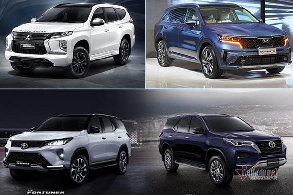 """""""Điểm mặt"""" những mẫu SUV 7 chỗ ra mắt trong tháng 9"""