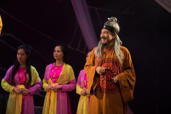 Quang Thắng làm trung tâm gây cười vở 'Trương Chi - Mị Nương'