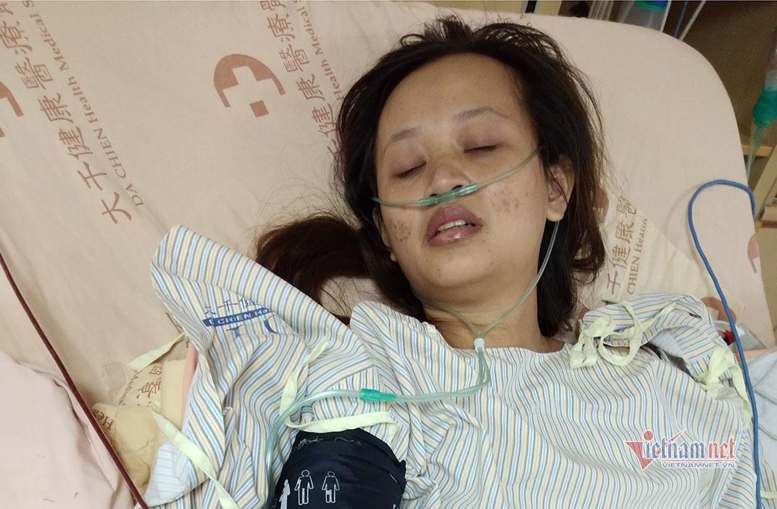 Trao 190 triệu đến gia đình chị Thúy bị ung thư ở Đài Loan