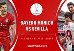 Xem trực tiếp Bayern Munich vs Sevilla ở kênh nào?