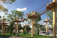 Gem Sky World ra mắt nhà phố phân khu Topaz Town