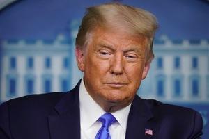 Ông Trump tuyên bố 'trận chiến bầu cử kết thúc tại tòa tối cao'