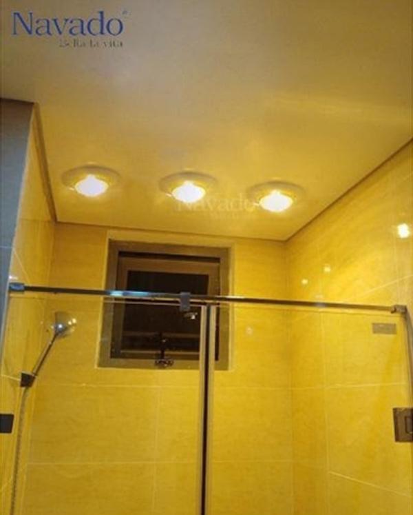 5 ưu điểm vượt trội của đèn sưởi âm trần 1 bóng
