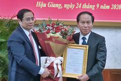 Công bố và trao quyết định chuẩn y chức vụ Bí thư Tỉnh ủy Hậu Giang