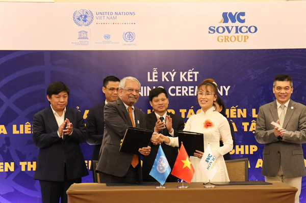 Deal signed to support Hanoi's cultural heritage and development