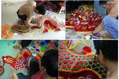 Phu Binh villagers strive to preserve the craft of lantern making