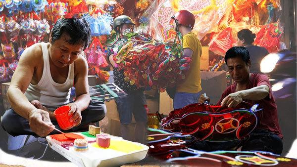 lantern making,craft villages,vietnam handicraft,mid-autumn festival