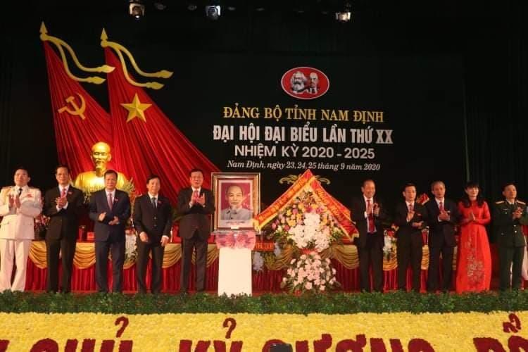 Phó Thủ tướng Trương Hòa Bình dự Đại hội Đảng bộ tỉnh Nam Định