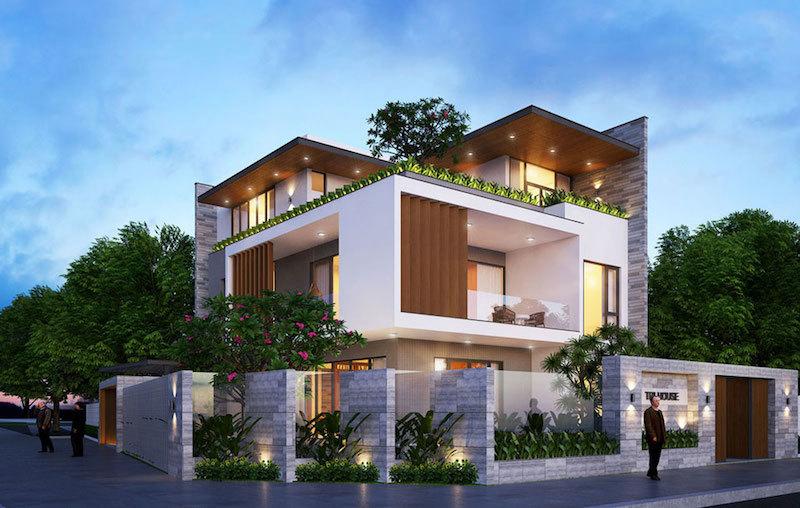 Điểm huyệt phong thuỷ không nên bỏ qua khi xây nhà 2 mặt tiền