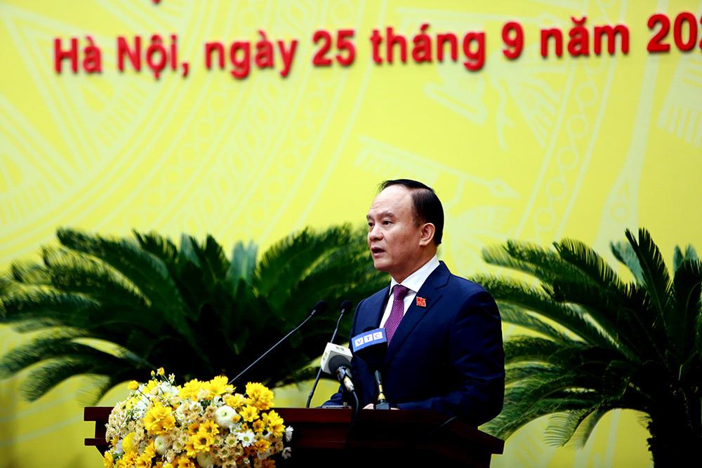 Ông Nguyễn Đức Chung bị bãi nhiệm chức Chủ tịch UBND TP Hà Nội