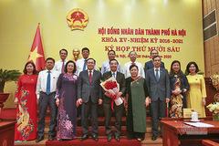 Tân Chủ tịch Hà Nội nguyện đem hết sức mình phục vụ Thủ đô